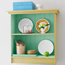 painted wall shelf chalk paint colors furniture ideas