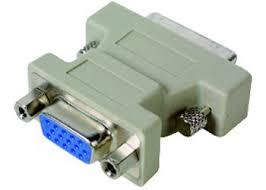 Адаптер переходник <b>DVI</b> - <b>VGA Gembird</b>/<b>Cablexpert</b> (A-<b>DVI</b>-<b>VGA</b>)