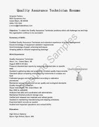 qa manager resume sample quality control technician resume pharmaceutical quality control resume sample resume sample hloom quality control resumes examples quality control assistant resume