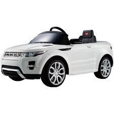 Детский <b>электромобиль Rastar Range</b> Rover Evoque белый (81400)