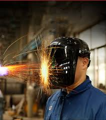 Welder Welding <b>Helmet</b> Face Mask PC Lens Head <b>Welding Cap</b> ...