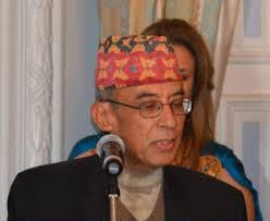 The Foreign Secretary of Nepal Arjun Bahadur Thapa gives his address - CC_emb50_nepal3