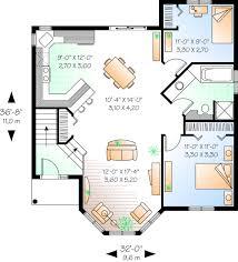 Cute   House Plan HuntersPlan No  Main Floor Plan