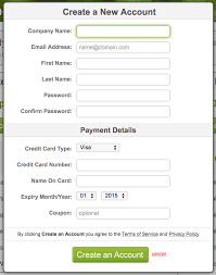 sign up online once you ve filled out this form and click the final create an account button your account is ready to go