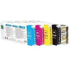<b>Roland</b> BN-20 <b>Eco</b>-<b>Solvent</b> Ink Set 220cc - <b>Cyan</b>, <b>Magenta</b>, Yellow ...