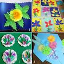 Подарки из цветной бумаги для мамы своими