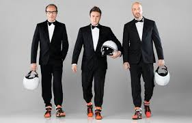 Guido Meda, Joe Bastianich e Davide Valsecchi, inizia Top Gear Italia
