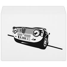 """Конверт большой С4 """"<b>Retro</b> Alfa Romeo Racing"""" #2387763 от ..."""