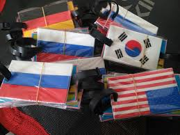 Travel Accessories National Flag Luggage Tag Silica Gel Suitcase ...