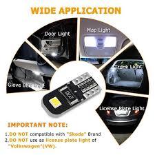 Online Shop <b>10Pcs W5W T10 LED</b> Canbus Bulb for Chevrolet Cruze ...