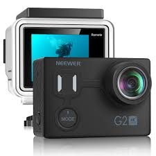 Neewer G2 <b>Ultra HD 4K Action</b> Camera with Touch Screen: 12MP ...