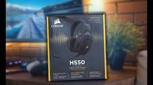 <b>Corsair HS50</b> - Обзор - YouTube