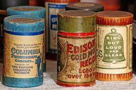 A collection of   th century wax phonograph cylinders  Brian Croxall