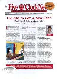 in the media too old to get a new job