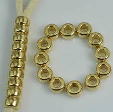IB1946 Tibetan brass mala counter findings beads,Original brass ...