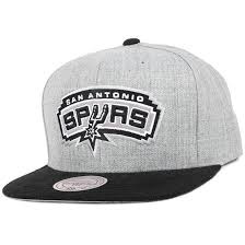 <b>San</b> Antonio Spurs Heather Micro Snapback - <b>Mitchell & Ness</b> - Start ...