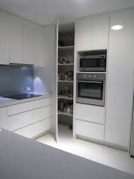 line white kitchen mounted cabinet