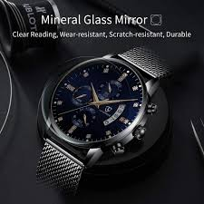 <b>Men's Watches</b>,Luxury <b>Fashion Business</b> Stainless Steel Analog ...