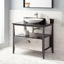 Stainless Steel Vanities Bathroom Vanities Signature Hardware - Bathroom wraps