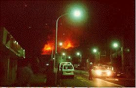 「1986年 - 伊豆大島・三原山の噴火、全島民が一時島を脱出。」の画像検索結果