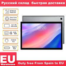 <b>Teclast P20HD 4G</b> Phone Call Tablets Octa Core <b>10.1 inch</b> IPS ...