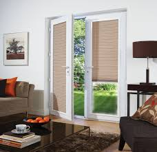 large sliding patio doors: patio french doors with blinds blinds for french doors patio u