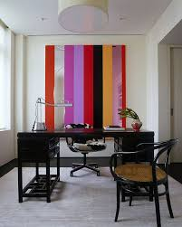 view in gallery unique wall art addition brings stripes to the home office design incorporated art for home office