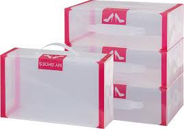 """<b>Набор коробок</b> для хранения женской <b>обуви</b> """"El Casa"""", 30 х 18 х ..."""