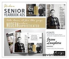 yearbook ads senior graduation photoshop templates urban 128270zoom