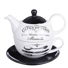 "MILLIMI Кафе де Пари <b>Набор чайный</b> ""Эгоист"", чайник 380мл ..."