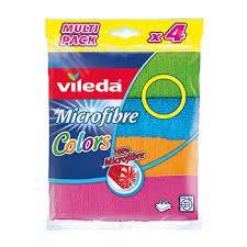 <b>Салфетка Colors Vileda</b> 4 шт, Германия - купить c доставкой на ...