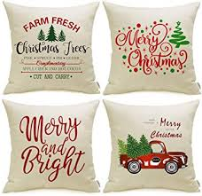 Meekio Christmas Decorations for Home Set of 4 ... - Amazon.com