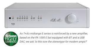 Интегральный усилитель Т+A <b>PA 1100</b> E отличается от своего ...