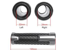 Online Shop <b>1 Pair Motorcycle</b> 22mm Handle Grips Rubber ...