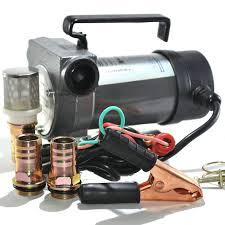 Насос перекачки дизельного топлива 24V (20-50л/мин) помпа в ...
