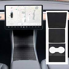 ROCCS Tesla Center Console Wrap Kit, Carbon Fiber ... - Amazon.com