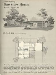Vintage house plans  Vintage houses and Mid century on PinterestVintage House Plans  s homes  mid century homes