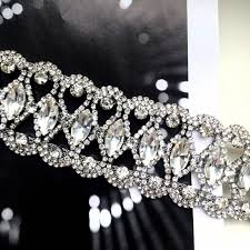 Online Shop 2019 <b>Luxury</b> Hollow Flower Crystal Rhinestone Choker ...