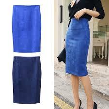 Women <b>Skirts</b> Midi <b>Pencil Skirts</b> High Waist <b>Stretch</b> Sexy Slim Ladies ...