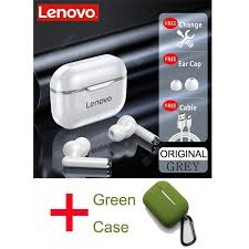 NEW <b>Original Lenovo</b> LP1 <b>TWS</b> Wireless Earphone Bluetooth 5.0 ...