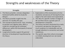 ed erickson  s theory of psychosocial development  restriction of development 7 strengths and weaknesses