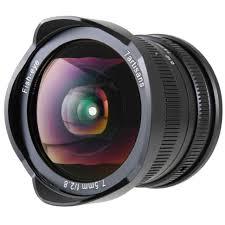 <b>Объектив 7Artisans</b> 7.5mm F2.8 Fisheye <b>X</b>-<b>Mount</b> Чёрный: купить в ...