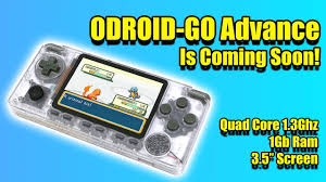 The ODROID GO Advance Is Coming Soon! <b>New DIY Retro</b> Gaming ...