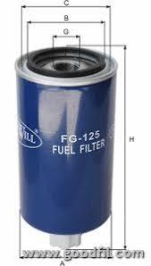 Топливный Фильтр Goodwill Fg 125, Автомобильные Фильтры ...