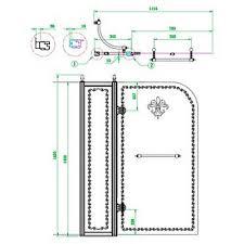 <b>Боковая стенка</b> Cezares Royal Palace ROYAL PALACE-A-<b>80</b>-FIX ...