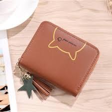 <b>Korea Fashion</b> Wallet Girl <b>Women</b> Purse Two <b>fold</b> 10.5*8.5*2.5cm ...