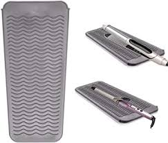 <b>Heat Resistant Silicone Mat</b> Pouch for Curling Irons, Hair ...