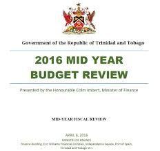 trinidad and tobago government to impose a % tax on online 2016 mid year budget review image from ministry of finance website