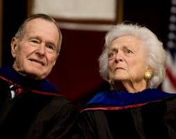 george bush senior in intensive care wife barbara also hospitalised currently reading george bush senior in