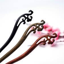 Elegant <b>hollow</b> flower hair stick jewelry Chinese style <b>vintage</b> ...